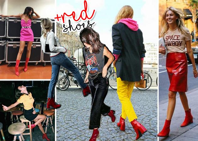 Κόκκινα ankle boots: Πως να φορέσεις τη Νο1 τάση της σεζόν σύμφωνα με τα street styles | tlife.gr
