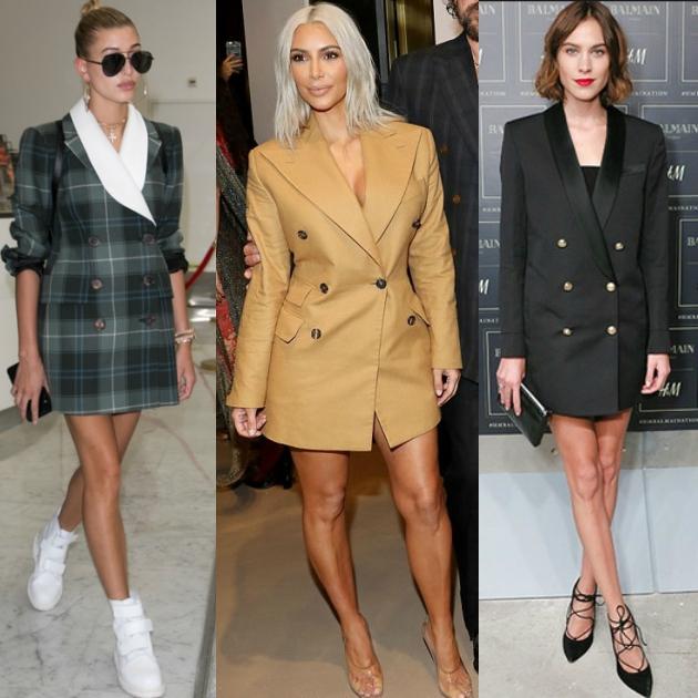 Οι stars επιλέγουν blazer dress