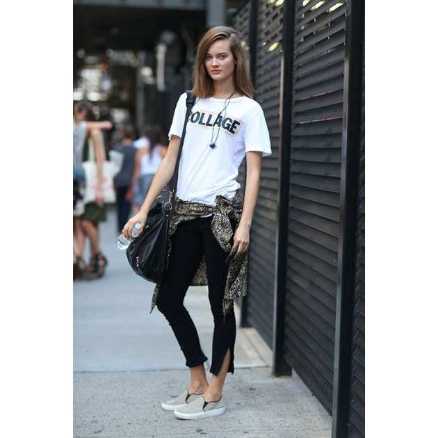11 | T-shirt + Cropped pants