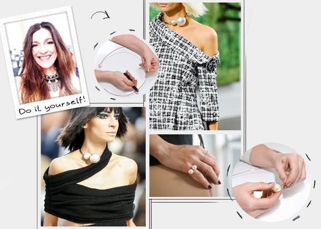 Κάν' το μόνη σου: Πως να φτιάξεις ένα stylish κολιέ ή δαχτυλίδι με πέρλες | tlife.gr