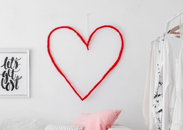 Αγίου Βαλεντίνου: Φτιάξε πανεύκολα μια συρμάτινη καρδιά για τον τοίχο σου! | tlife.gr