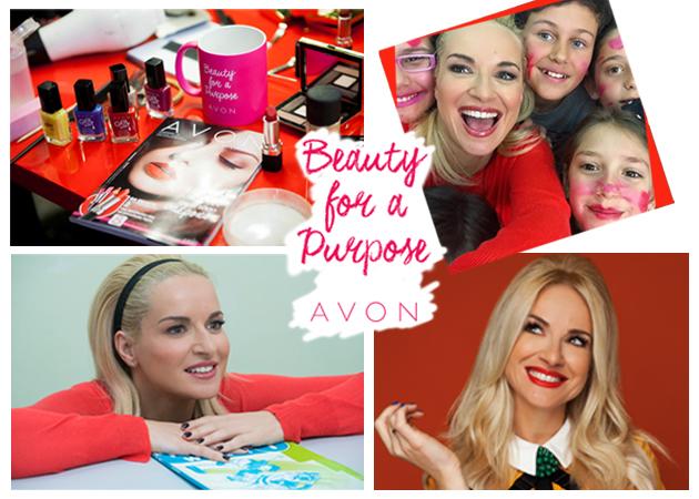 Beauty for a purpose!  Η Μαρία Μπεκατώρου γίνεται οδηγός ταξί, τηλεφωνήτρια, μαμά για χάρη της Avon!