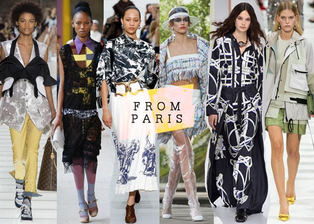 b617782b610 Fashion Week: Μια βόλτα στις πασαρέλες του Παρισιού και στις κολεξιόν της  επόμενης άνοιξης! (Part 2)