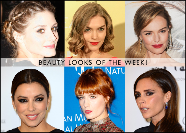 Τα 10 καλύτερα make up και μαλλιά της εβδομάδας!