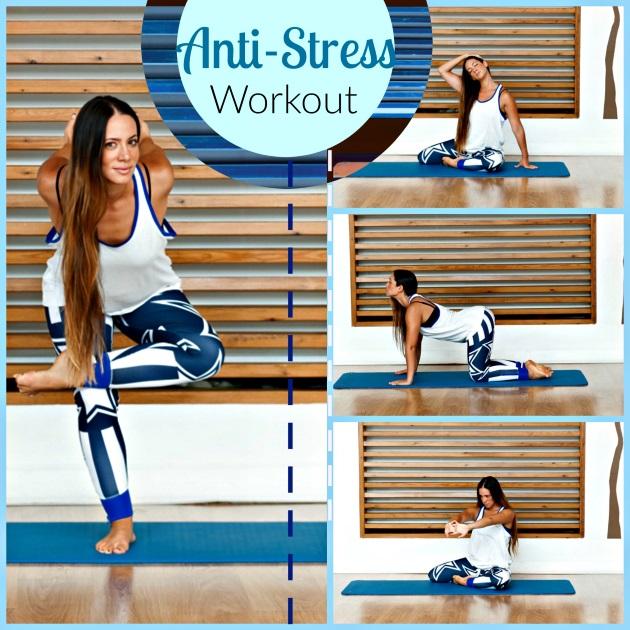 1 | Ασκήσεις για να αποβάλλεις το άγχος και το στρες!
