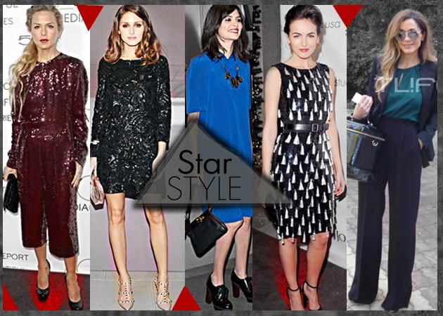 Celebrity Fashion!Τι φόρεσαν οι επώνυμες την εβδομάδα που