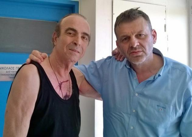 Γιώργος Βασιλείου: Οι φωτογραφίες του μέσα  από το νοσοκομείο! Τον επισκέφθηκε ο Απόστολος Γκλέτσος | tlife.gr