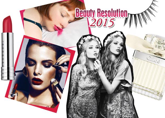 10 beauty στόχοι που θα σε κάνουν πιο όμορφη το 2015!
