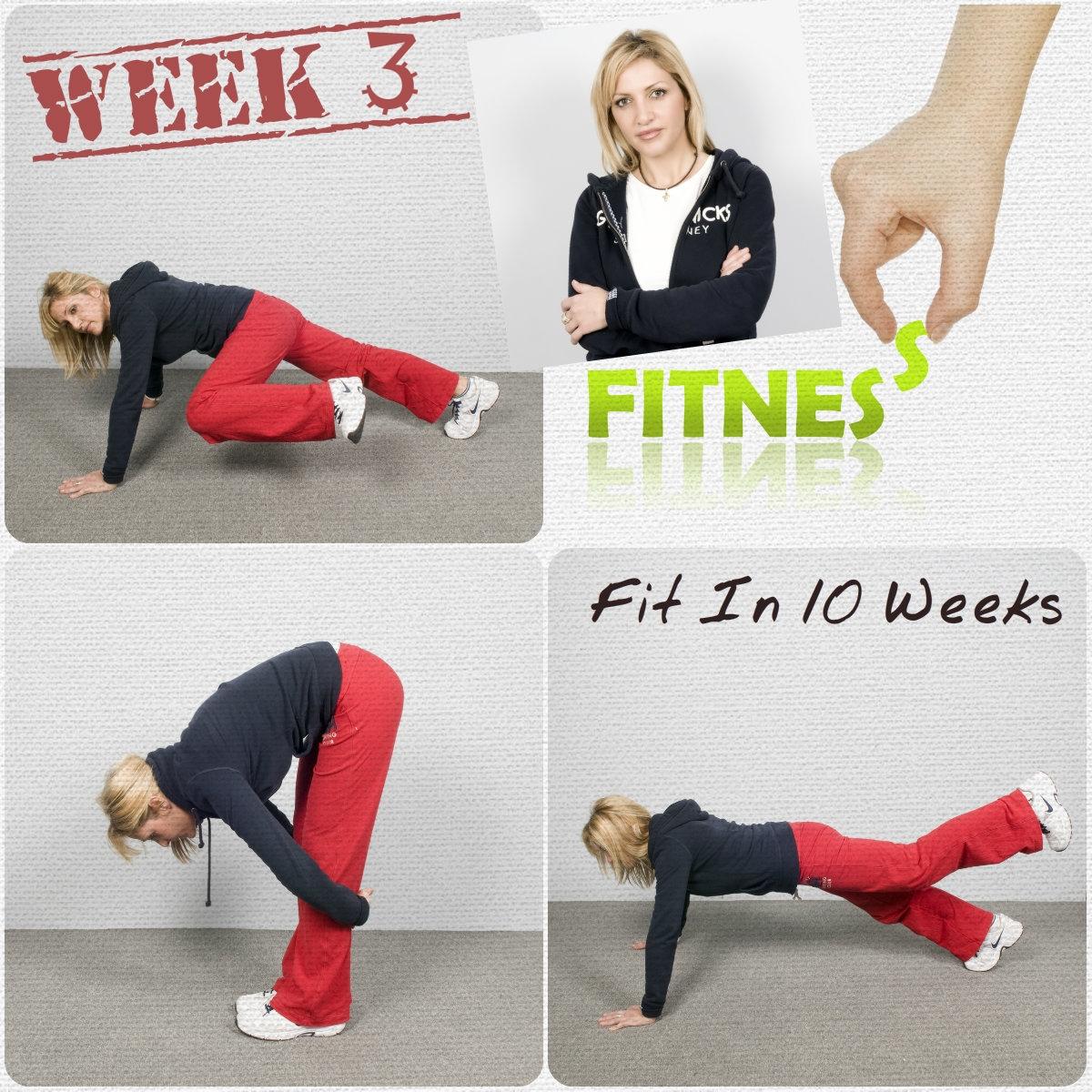 1 | ΠΙΟ FIT ΣΕ 10 ΕΒΔΟΜΑΔΕΣ! Ακολούθησε το δεύτερο σετ ασκήσεων!