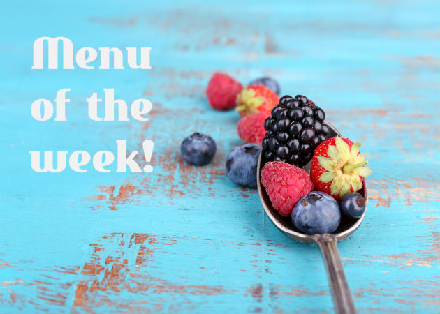 Το μενού της εβδομάδας: Απολαυστικές συνταγές!