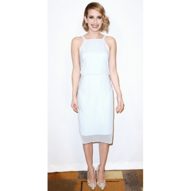 1c79af090bf CELEBRITY TREND: Τα λευκά φορέματα έχουν γίνει η εμμονή των stars ...