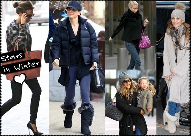 14b470491821 Tι φοράνε οι celebrities για να αντιμετωπίσουν το κρύο  - TLIFE