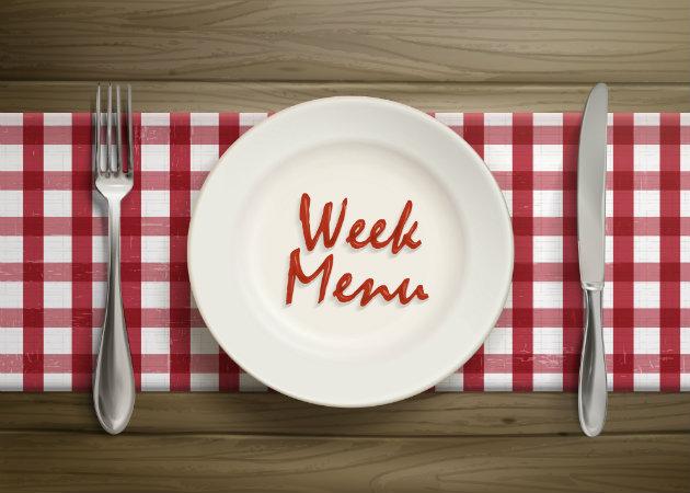 Το μενού της εβδομάδας: Ένα διαφορετικό πιάτο για κάθε μέρα!