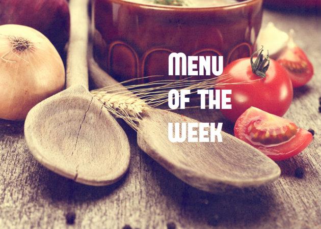 Το μενού της εβδομάδας: Τι θα μαγειρέψεις;