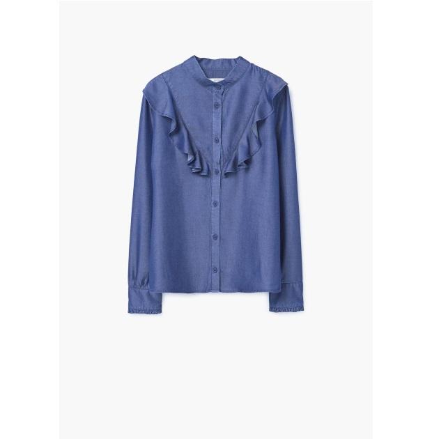 11   Jean πουκάμισο Mango