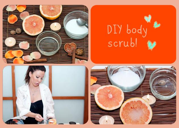 DIY! Πώς να κάνεις μόνη σου ένα scrub σώματος που διώχνει την κυτταρίτιδα! | tlife.gr