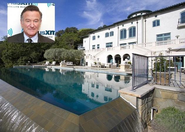 Πωλείται η βίλα του… γέλιου του αδικοχαμένου Robin Williams!