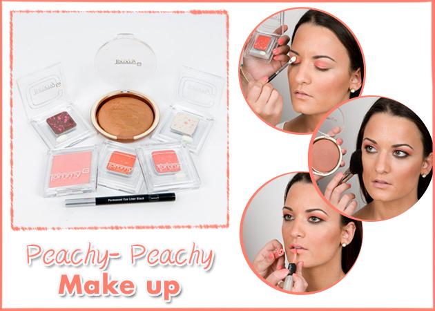 Ποιος είπε ότι το βερικοκί φοριέται μόνο στα χείλη; Πώς να κάνεις το peachy- peachy make up!