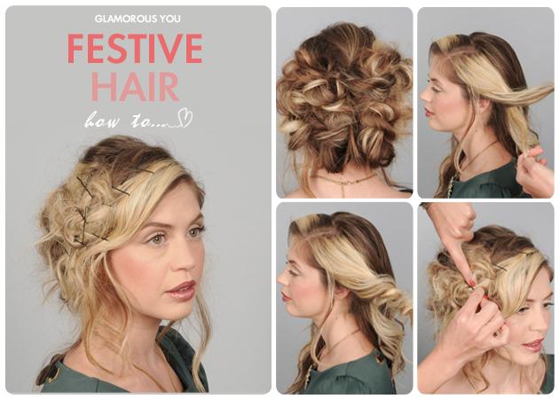 Έχεις σκεφτεί πώς θα κάνεις τα μαλλιά σου στο αποψινό ρεβεγιόν; Έτσι ακριβώς!