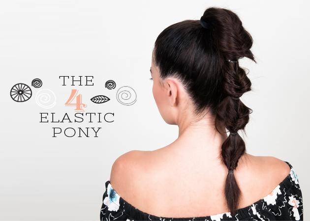 Έχεις…4 λαστιχάκια; Έχεις το τέλειο ponytail! Δες πώς γίνεται! | tlife.gr