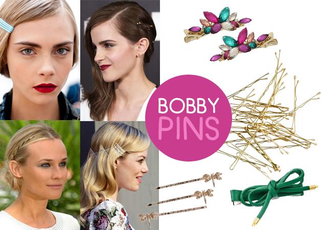 Bobby pins! Ή αλλιώς 7 καθόλου βαρετοί τρόποι να φορέσεις τσιμπιδάκια στα μαλλιά σου! | tlife.gr