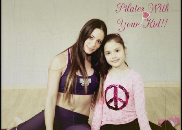 Pilates με το παιδί σου! Δες τις ασκήσεις της Μάντης Περσάκη! | tlife.gr
