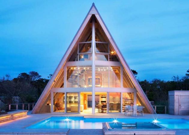 Ένα σπίτι… ΑΑ! Δες το μοναδικό σχήμα του!   tlife.gr