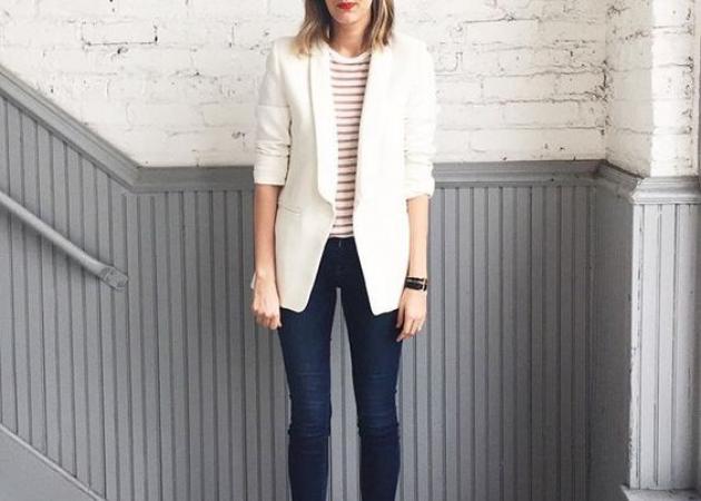 Αναρωτιέσαι πως θα συνδυάσεις το λευκό σακάκι; Η fashion editor προτείνει… | tlife.gr