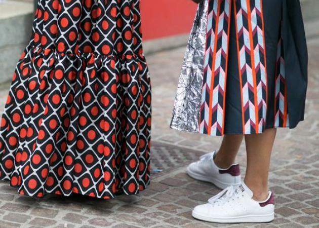 Μπορώ να φορέσω στην πόλη τη μακριά printed φούστα;