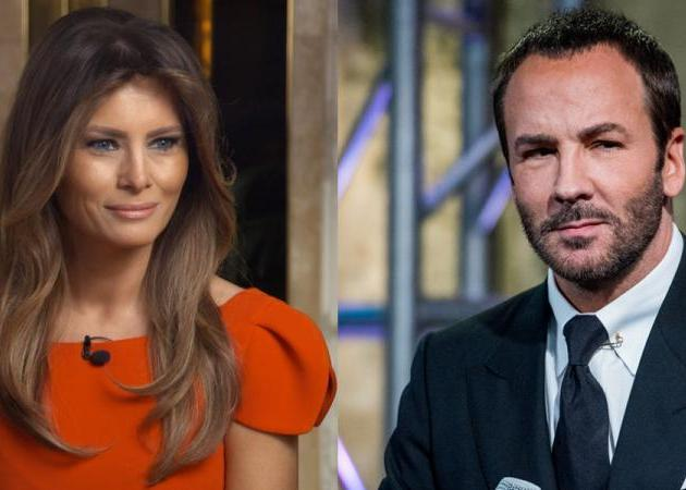 Ο Tom Ford αρνήθηκε να ντύσει τη Melania! Η απάντηση του Donald Trump | tlife.gr
