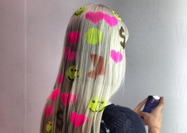 OMG! Μαλλιά με σχέδια που φωσφορίζουν στο σκοτάδι!   tlife.gr