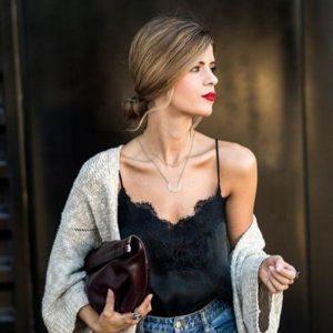 O super stylish τρόπος να φορέσεις το lingerie top τις πρωινές ώρες! d827b2e7af8