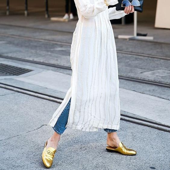 Πως να συνδυάσεις το αγαπημένο σου φόρεμα με τζιν | tlife.gr