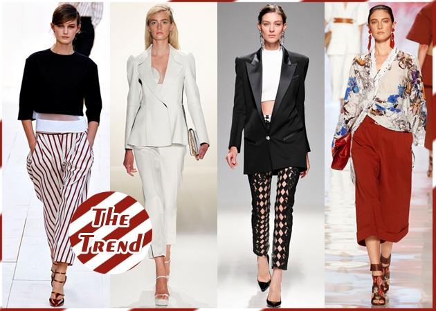 Cropped Pants  Η νέα τάση στα παντελόνια και πως να τη φορέσεις σωστά… 438b065ed81