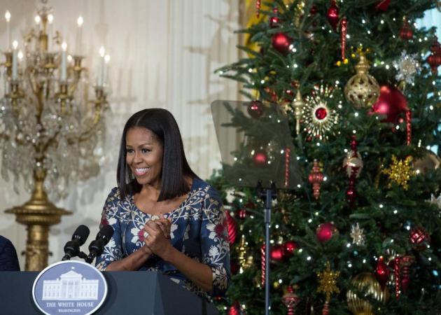 Η Michelle Obama στόλισε το Λευκό Οίκο! Δες τις φωτογραφίες! | tlife.gr