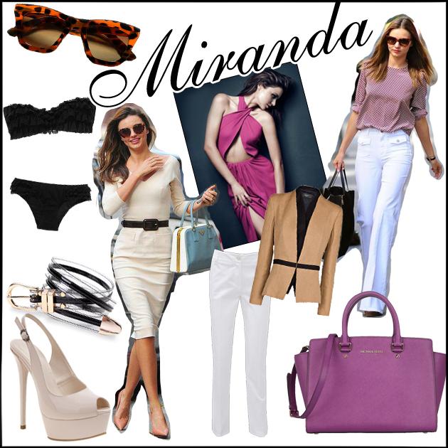 1 | Απόκτησε το στιλ της MIRANDA KERR