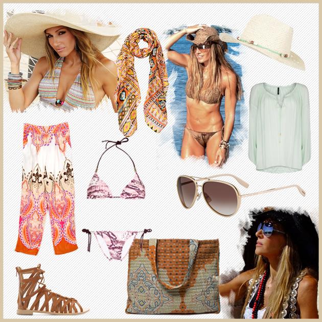 1 | Το summer style της Πετρουλάκη