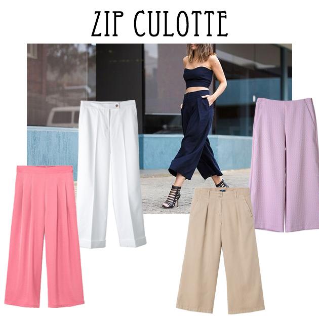 1 | Ζip culottes