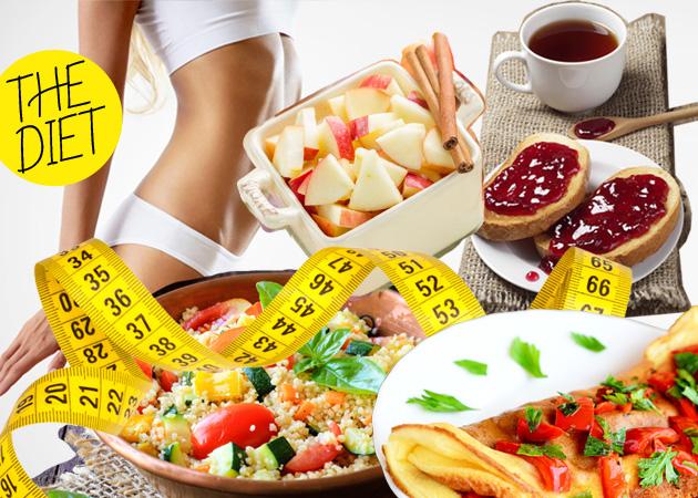 Δίαιτα: Χάσε 5 κιλά λίπους σε ένα μήνα