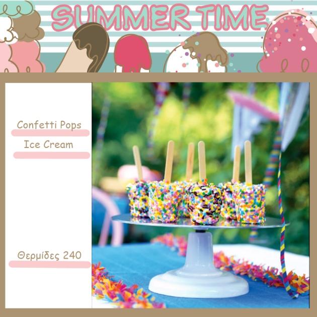 4 | Confetti Ice Cream Pops