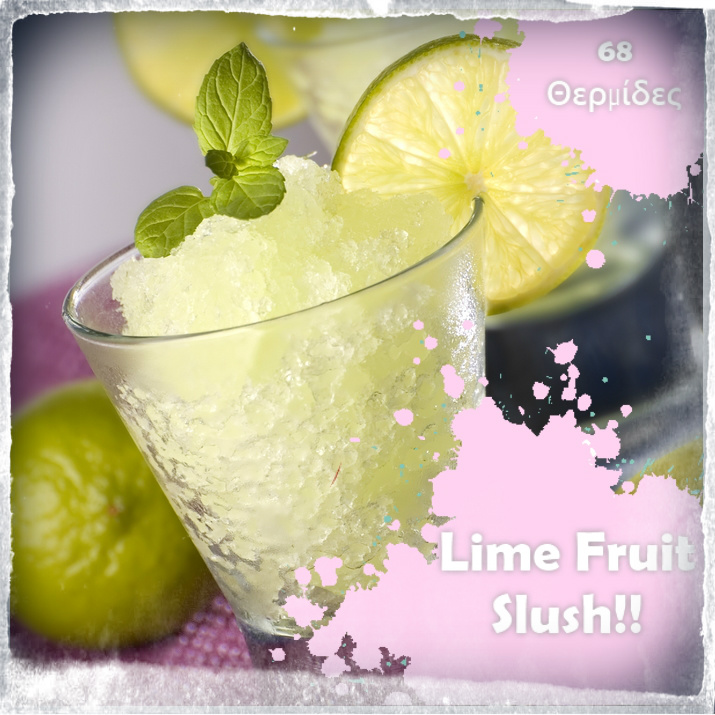 2 | Lime Fruit Slush