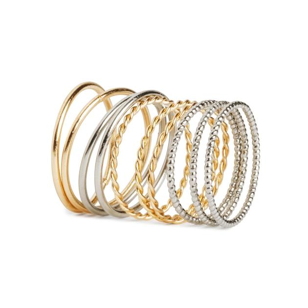 6 | Δαχτυλίδια H&M