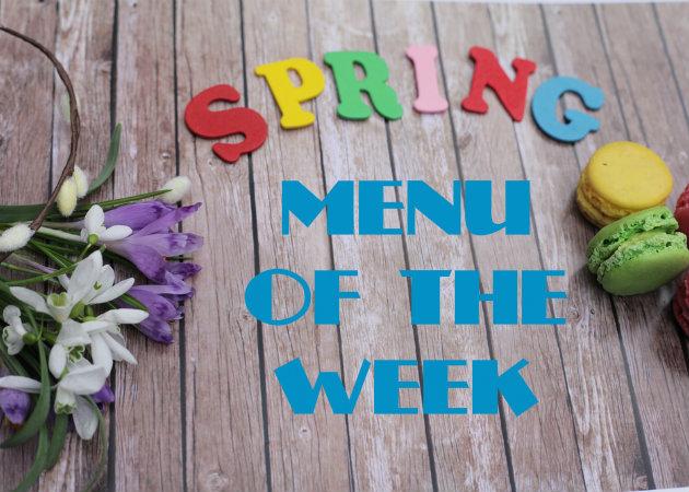 Το μενού της εβδομάδας: Νηστίσιμα φαγητά και γλυκά!