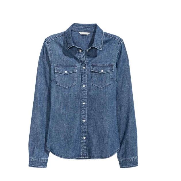 10   Jean πουκάμισο Η&Μ
