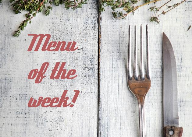 Το μενού της εβδομάδας: Μαγειρεύουμε για να απολαμβάνουμε!