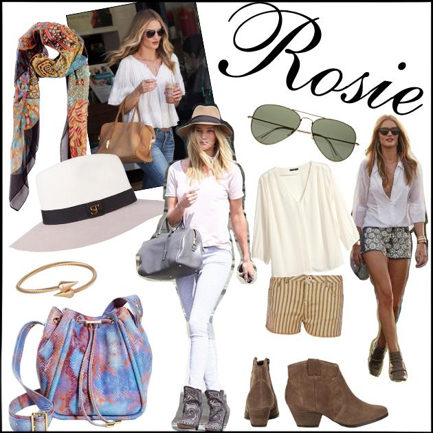 1 | Απόκτησε το στιλ της ROSIE HUNTINGTON