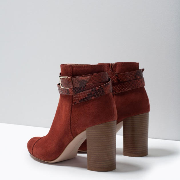 10 | Ankle boots Zara