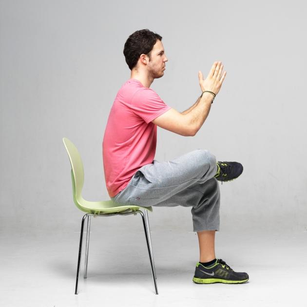 4 | Άρση από καρέκλα με το πόδι σταυρωμένο Μέρος Πρώτο