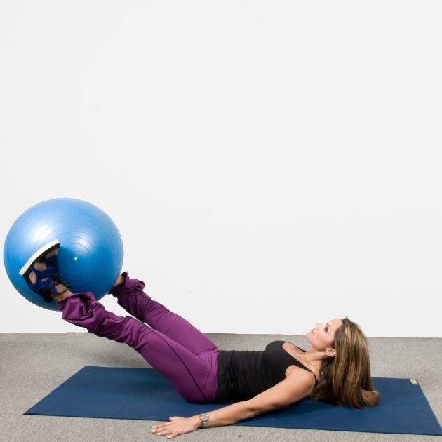 2 | Ασκήσεις με μπάλα: Κοιλιακοί και μηροί Μέρος Πρώτο