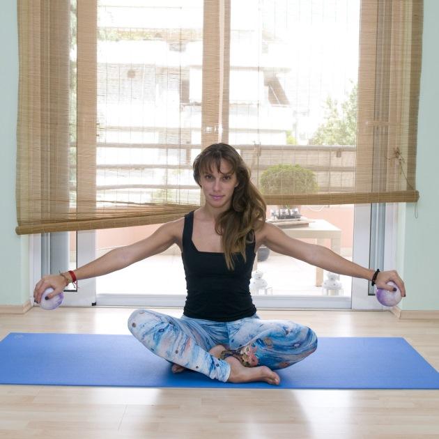 4 | Κυκλάκια με yoga balls
